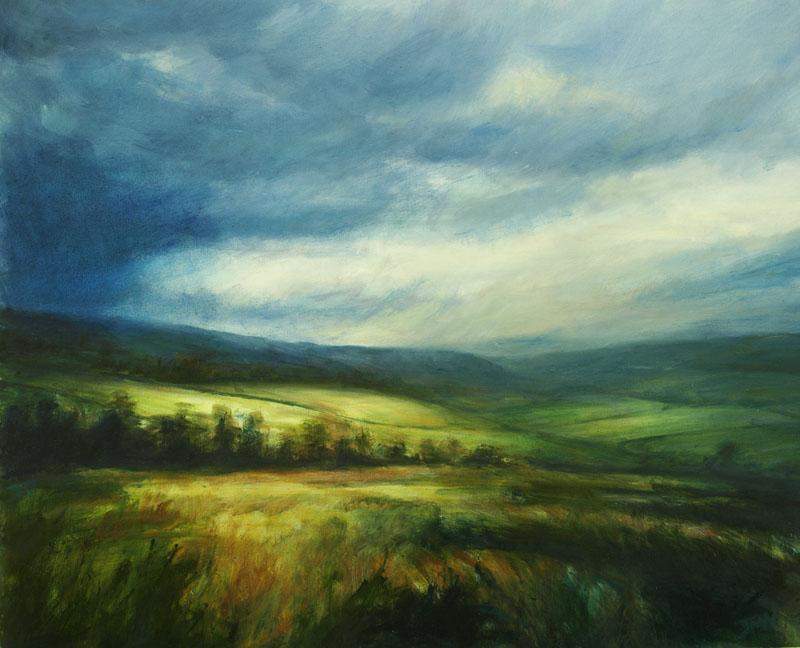 New paintings at The Yorkshire  Wolds Gallery